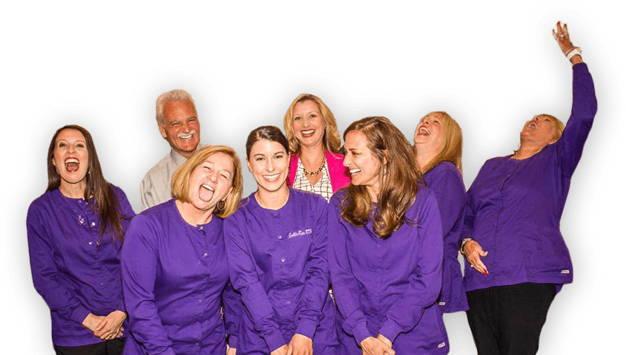 Exceptional Dentistry team laughing and having fun