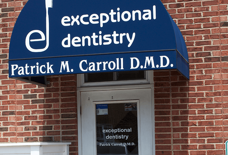 The Exceptional Dentistry front entrance